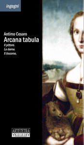Qui sopra, la copertina del libro. In alto, il museo di Capodimonte