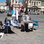 Arte in piazza Mercato