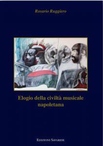 Qui sopra, la copertina del libro. In alto, il chiostro grancde del Conservatorio di San Pietro a Majella