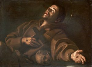 Gerard van Honthorst, San Francesco che riceve le stimmate