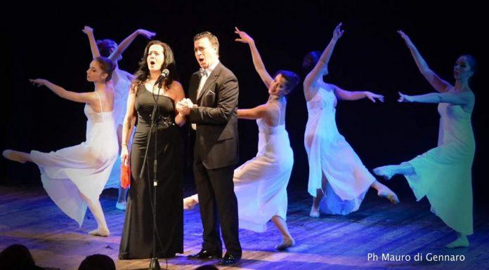 In foto, il tenore Luca Lupoli e il soprano Olga De Maio\ ilmondodisuk.com