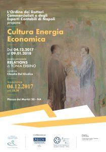 Locandina Cultura Energia Economica