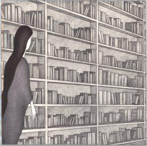 """In foto, un lavoro di Francesco Lucrezi, in mostra nel percorso espositivo """"Pagine"""""""
