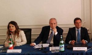Da sinistra, Riccio, Petrucciani, Moretta