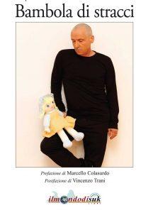 """Qui sopra, la copertina del libro. In alto, Pasquale Ferro intervistato da Francesca Panico per """"Anteprima tv"""""""