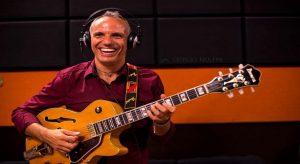 In foto, il chitarrista Paolo Palopoli (ph. Giorgio Molfini)\ilmondodisuk.com
