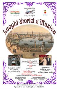 In foto, in alto, il soprano Olga De Maio e il tenore Luca Lupoli; al centro, la locandina dell'evento\ilmondodisuk.com