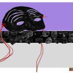"""La maschera di Pulcinella per la sezione teatrale realizzata dai bambini della scuola primaria del 48°Circolo Didattico """"M. Claudia Russo""""di Napoli (quartiere Barra)\ ilmondodisuk.com"""