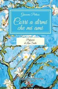 """Qui sopra, la copertina del libro. In alto, Giacomo Pietoso con le """"sue"""" editrici al Salone del libro di Napoli che si è svolto a San Domenico Maggiore"""