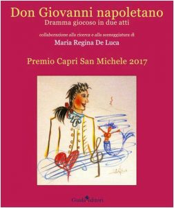 Qui sopra, la copertina del libro. In alto, Alessandro Preziosi nel Don Giovanni di Mozart