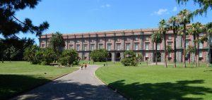 Qui sopra, la facciata del museo di capodimonte. In alto, gli studenti del master