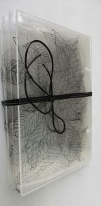 Qui sopra e in alto, due dei libri d'artista che saranno proposti nella mostra