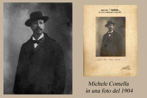 Michele Comella in una fotografia del 1904\ ilmondodisuk.com