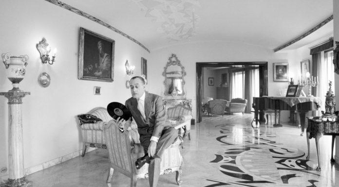Totò nella sua casa di Roma - 1957\ilmondodisuk.com