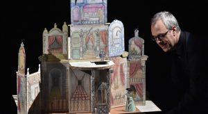 """Una scena dello spettacolo """"Un mare di desideri"""", foto, di Francesco Squeglia\ ilmondodisuk.com"""