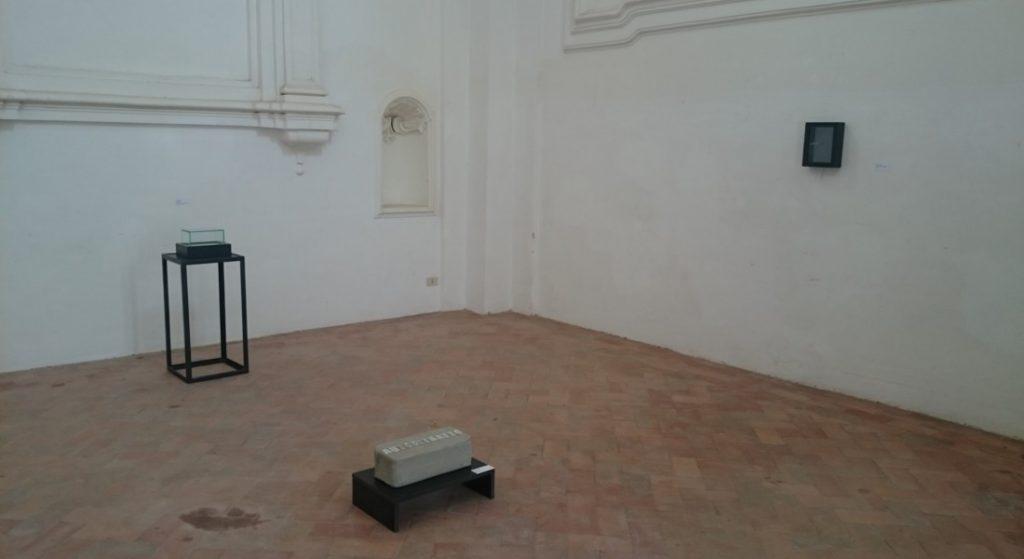 Particolare dell'installazione, sala del Capitolo\ ilmonodisuk.com