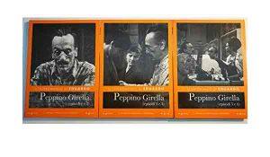 """Qui sopra, frammenti di """"Peppino Girella"""". In alto, Eduardo de Filippo"""