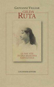 Tui sopra, la copertina del libro. In alto, un'immagine della Napoli dell'Ottocento