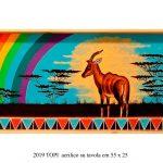 Topi con arcobaleno - Schili