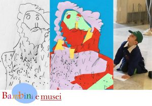 Qui sopra, una foto simbolo del progetto bambini e musei