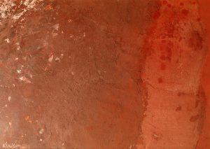 Senza titolo, tecnica mista su carta, Domenico Spinosa