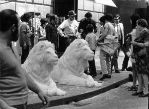 L'artista tedesco a Napoli, negli anni '80