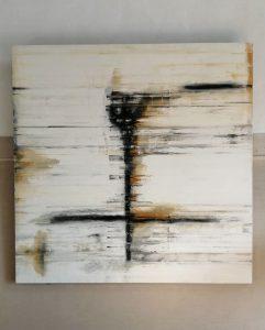 In pagina, i lavori dell'artista alla Biennale
