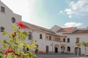 La corte del Palazzo delle arti