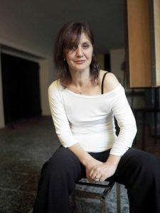 La regista Laura Angiulli, anima di galleria Toledo
