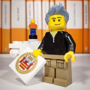 Qui sopra, Pardini nella Lego. Sopra, i magnifici re italiani