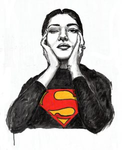 Qui sopra, Maria Callas. In alto, Frida Kahlo
