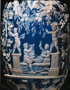 vaso blu archeologico| ilmondooìdisuk.com