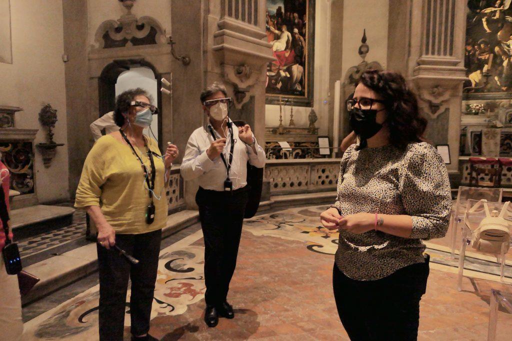 Visori per la realtà aumentata di Caravaggio, una nuova luce